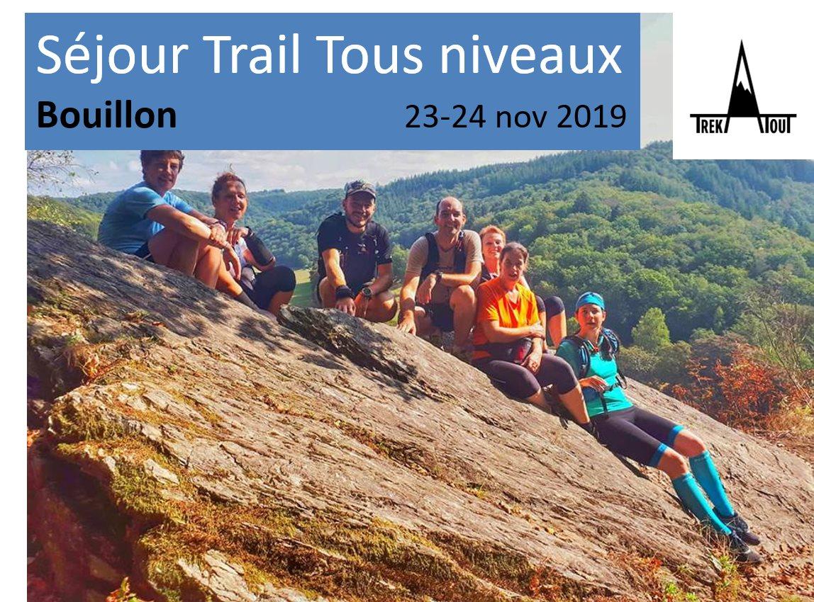 Séjour Trail Bouillon - Tous Niveaux
