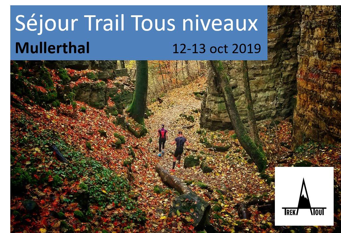 Séjour Trail Tous niveau - Mullerthal