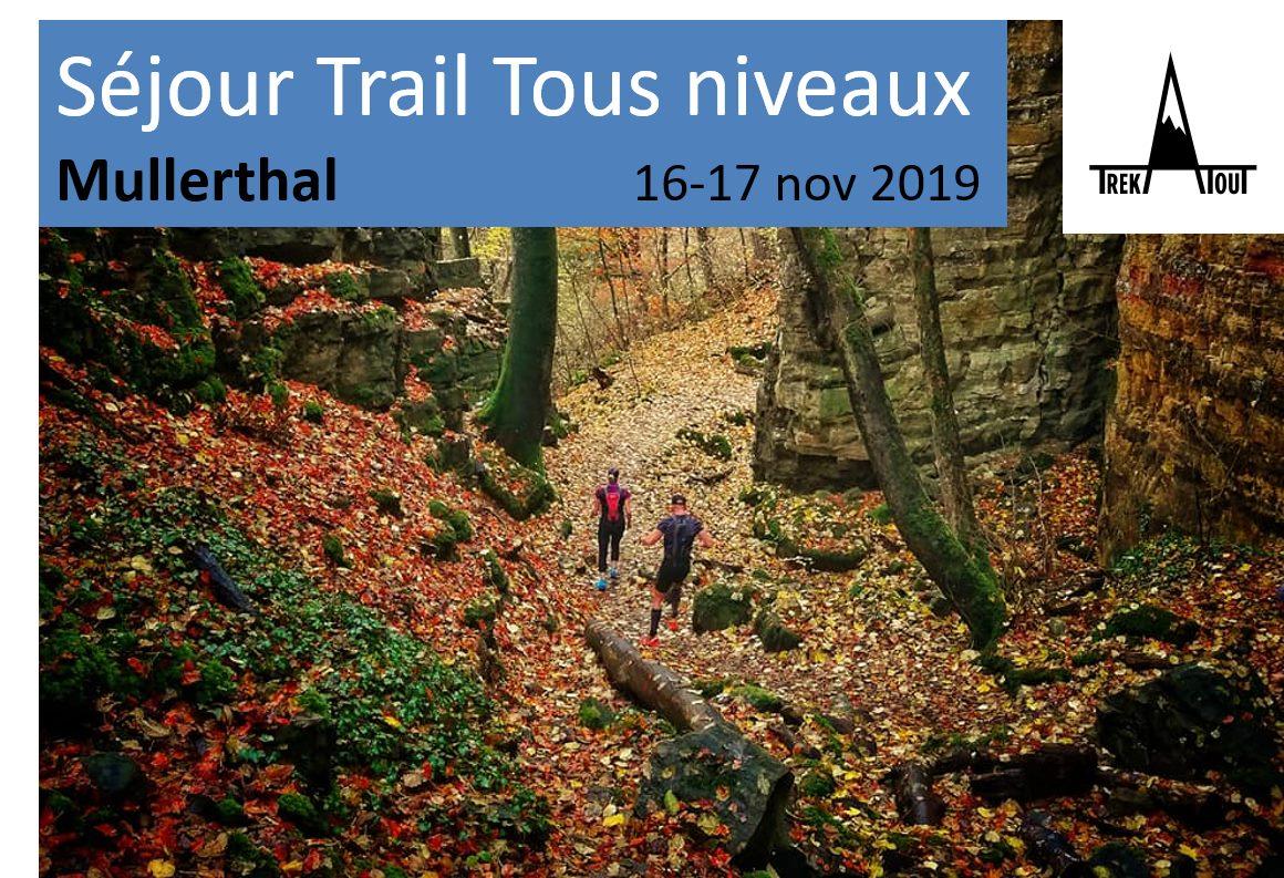 Séjour Trail Mullerthal - niveau 3