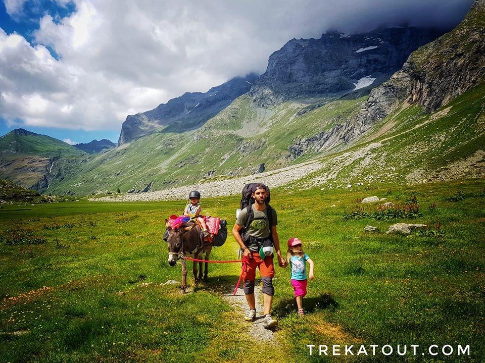 Trekking en famille