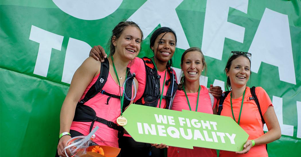 Entraînement Oxfam Trail