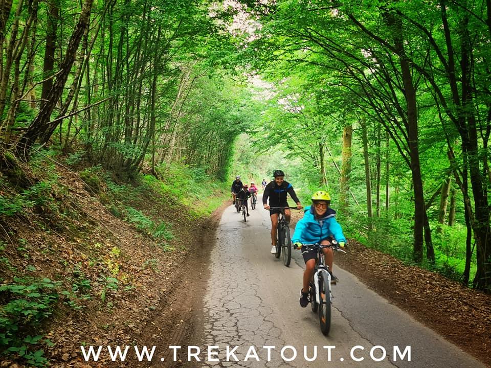 WE Vélo en famille dans la région des Fagnes
