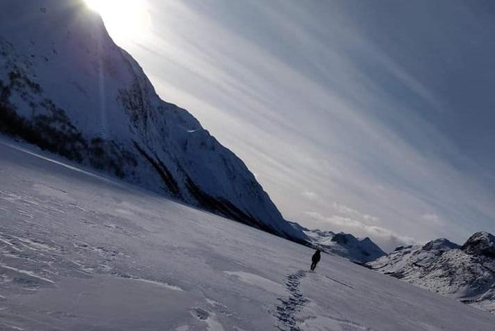 Rando itinérante en Norvège en raquette